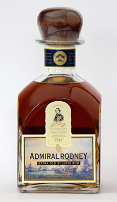 Admiral Rodney Rum - 2009 IWSC Gold Winner Admiral Rodney Extra Old ...